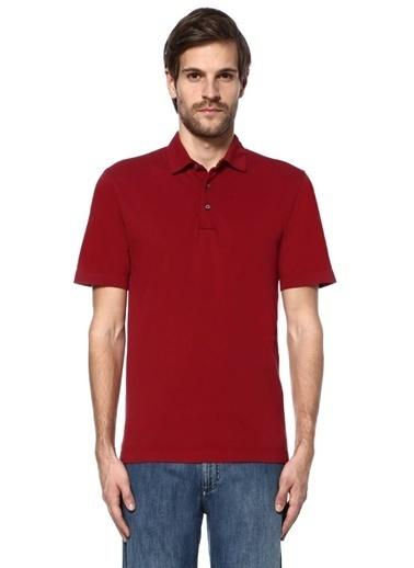 Canali Polo Yaka Tişört Kırmızı